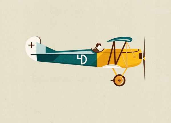 Illustration brevet d'initiation avec petit avion
